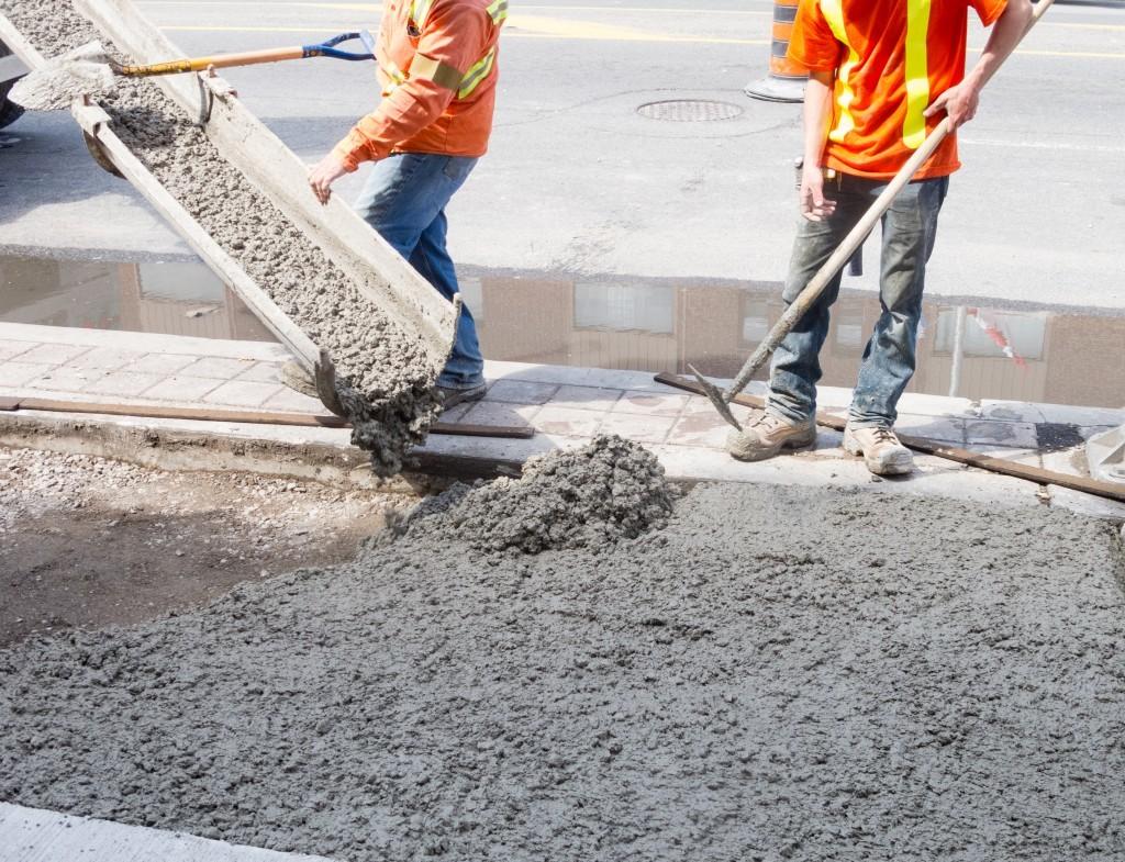 Бетонные смеси для строительных работ